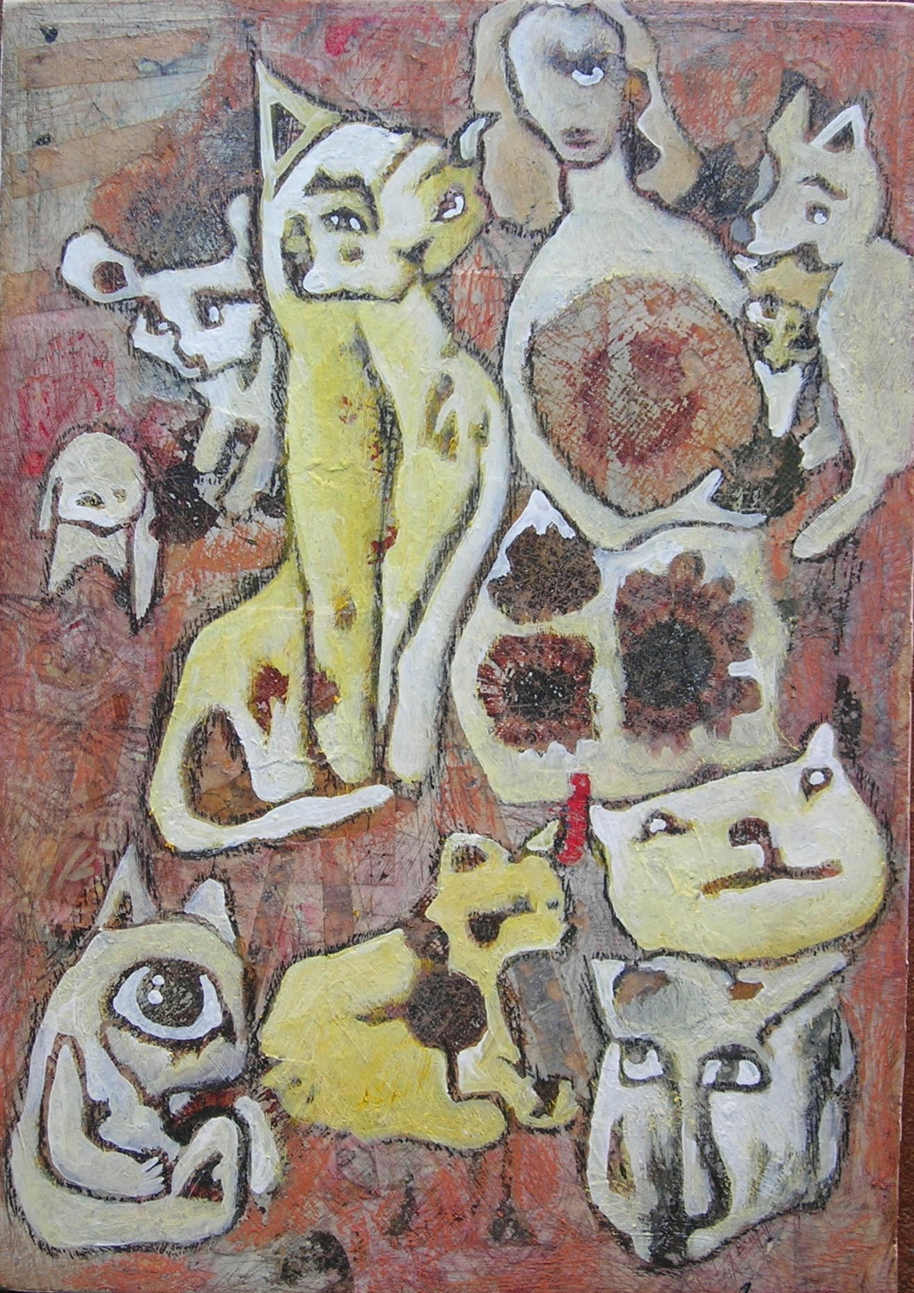 Cats Lady_8x11in
